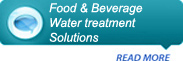 Food & Beverage water treatment solutions