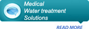 Medical water treatment solutions